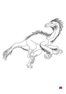 Coloriage Beipiaosaurus