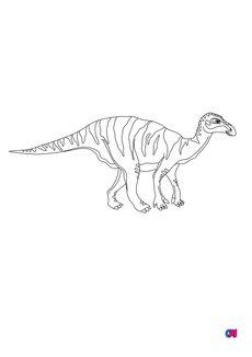 Coloriage Iguanodon
