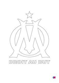 Coloriage L'Olympique de Marseille
