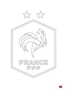 Coloriage Équipe de France