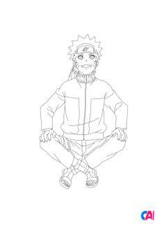 Coloriage Naruto 6