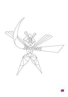 Coloriage 798 - Katagami