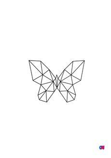 Coloriage Animaux géométriques