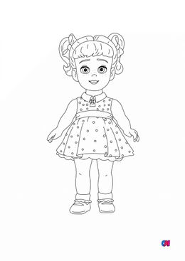 Coloriage Toy Story 4 - Gabby Gabby