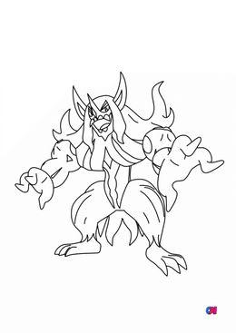 Coloriage Pokémon - 861 - Angoliath