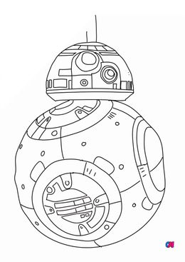 Coloriages Star Wars - BB8