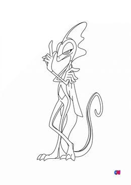 Coloriage Pokémon - 818 - Lézargus