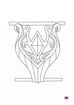 Coloriage Lolirock - Bracelet de Talia