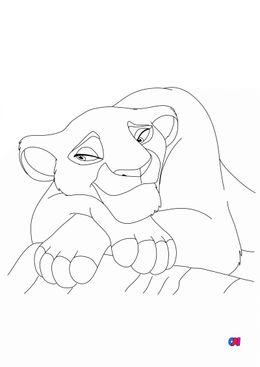 Coloriage Roi Lion - Sarabi
