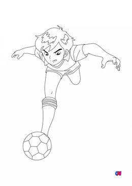 Coloriage Football - L'école des champions