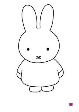 Coloriage Miffy - Miffy